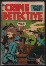 1953 Crime Detective # 7 comic book